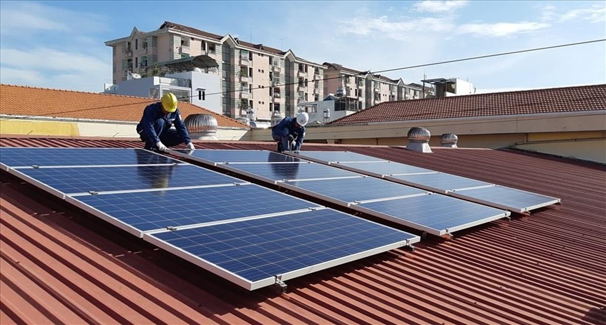 Báo giá lắp đặt điện hòa lưới năng lượng mặt trời diện tích 130m2
