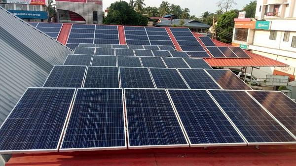 Điện năng lượng mặt trời hoà lưới 5kw