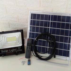 Đèn năng lượng mặt trời JBP-CC-200w - Tháo được kính