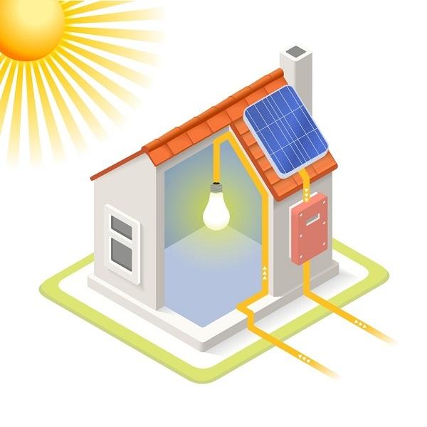 dac diem he thong hoa luoi dien nang luong mat troi 1 - Đặc điểm của hệ thống hòa lưới điện năng lượng mặt trời hiện nay